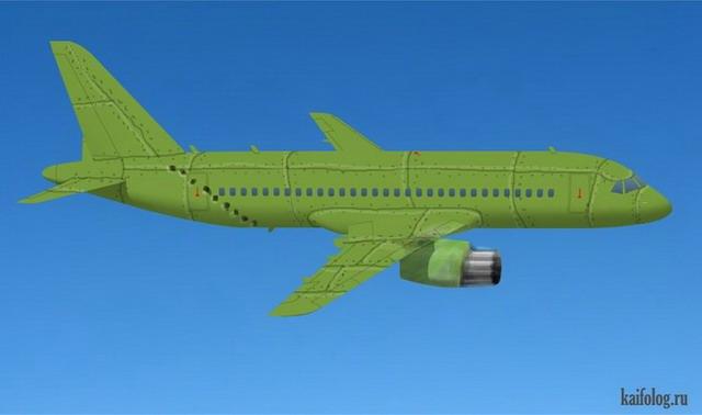 Раскрась самолет аэрофлота (35 фото)