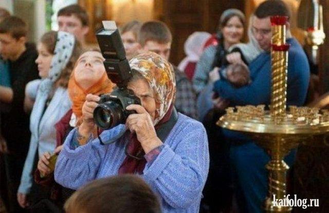 Прикольные пенсионеры (50 фото)