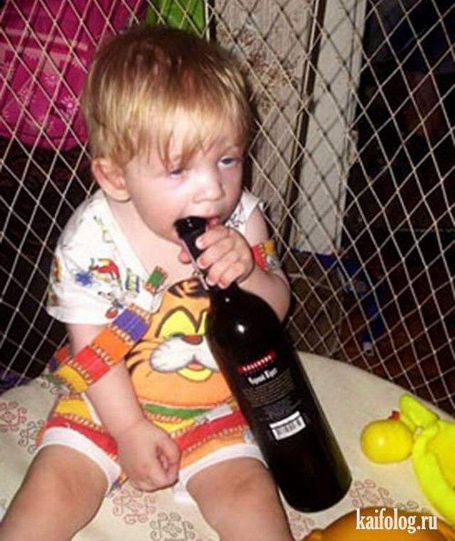 Картинка девочка с бутылкой мальчик с сигаретой