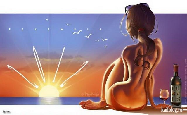 Иллюстратор Дэвид Дунстан (55 картинок)