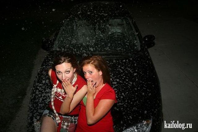 Смешные девушки (40 фото)