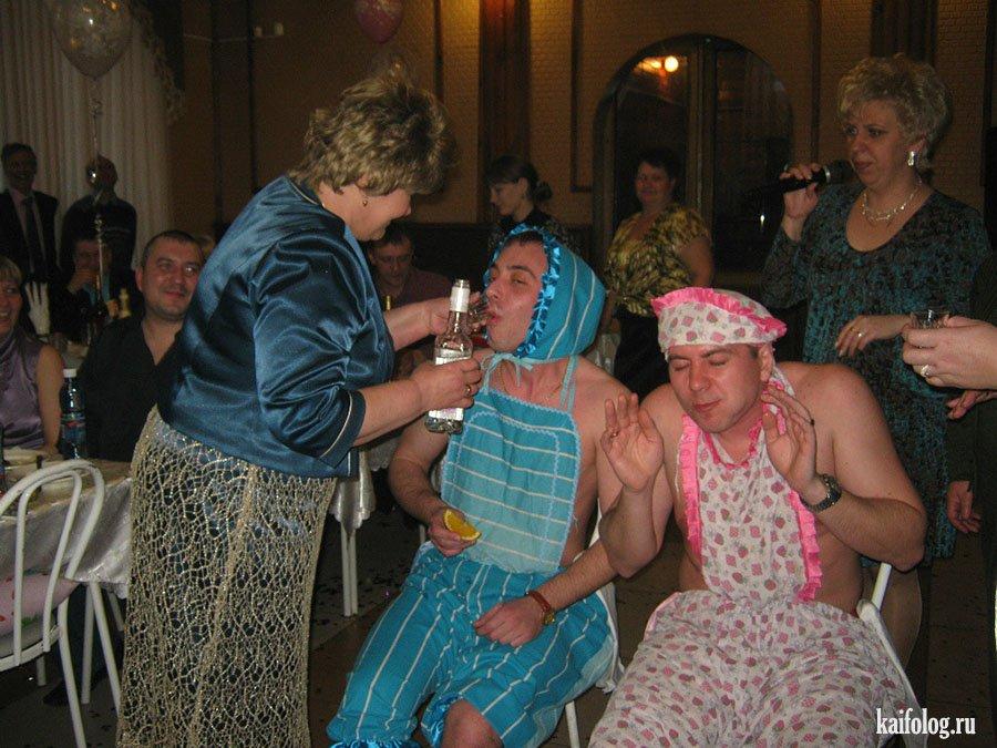 Как проводят запой невесты