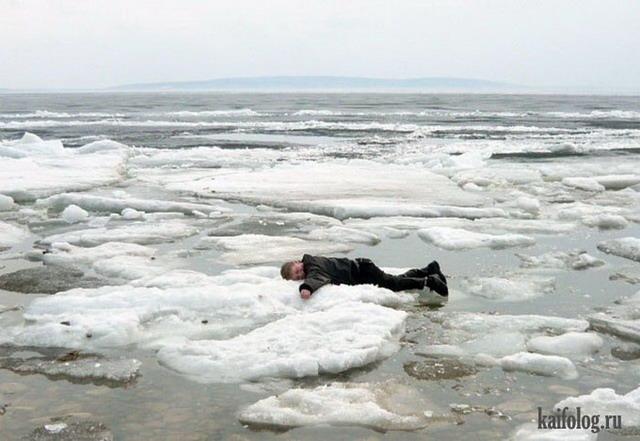 Ледоход (50 фото и видео)