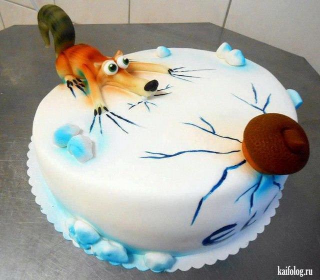 картинки прикольные с тортом