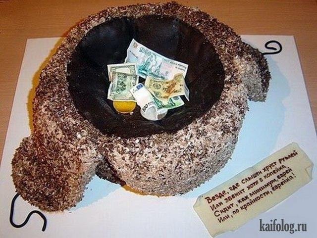 фото самые смешные торты