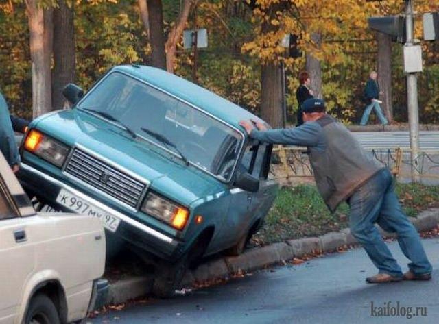 Прикольные водители (65 фото)