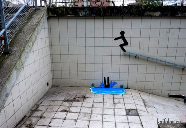 Уличное искусство (65 фото + видео)