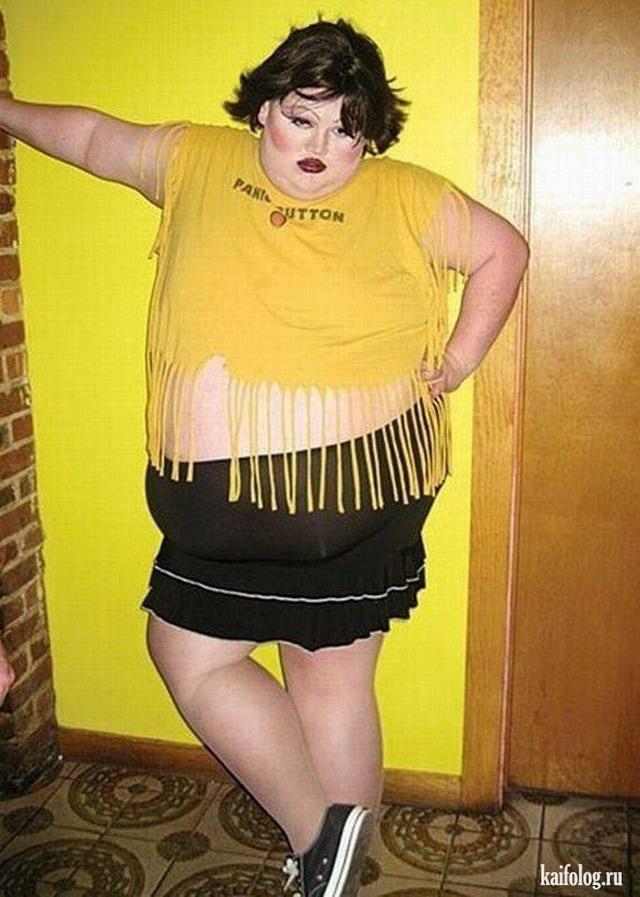 толстые женщины смешные фото