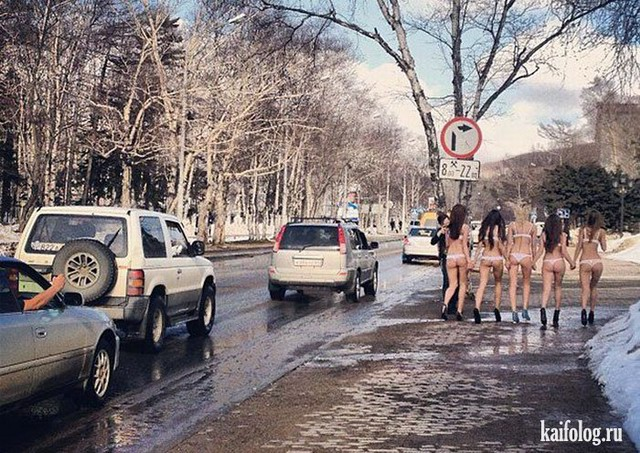 Весенние девушки (35 фото)