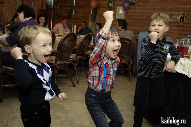 Счастливые русские дети (65 фото)