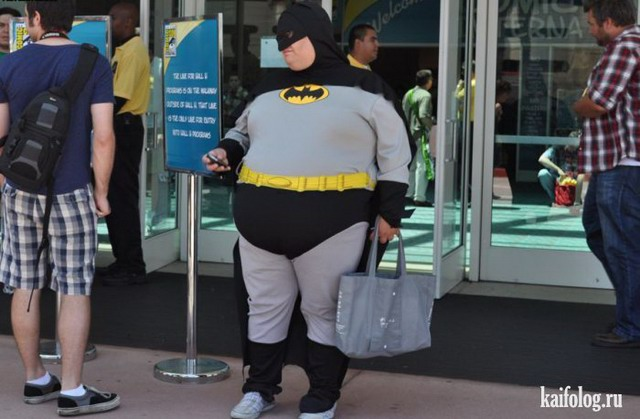Прикольные толстяки (70 фото)