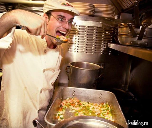 Прикольные повара (60 фото)