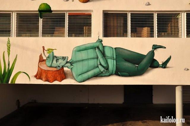 Украинские граффити (60 фото)