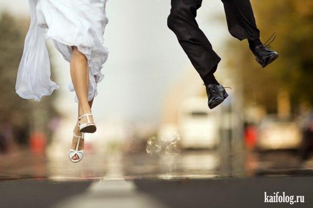 Веселые свадьбы (70 фото)