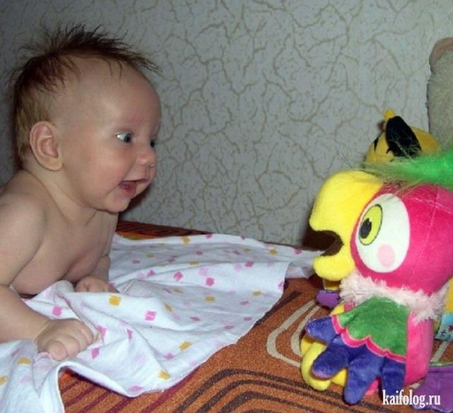 Смешные дети (55 фото + видео)