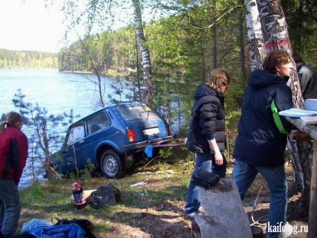 Отдых на природе по-русски. Часть - 3 (45 фото)