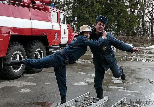 Прикольные пожарные)) 99