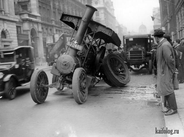 Прикольный ретро транспорт (45 фото)