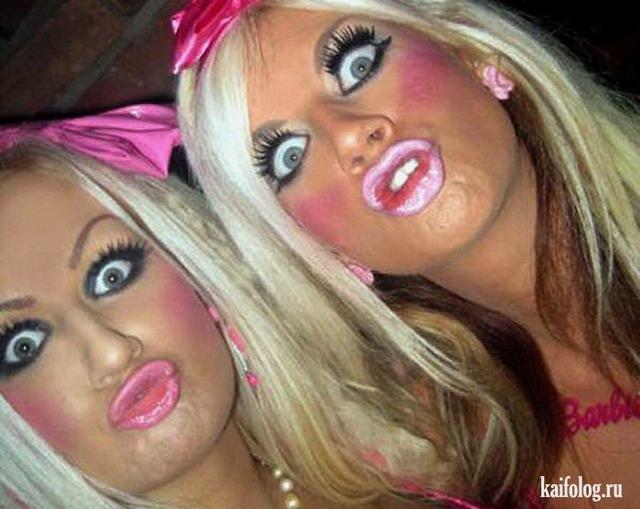 Веселые девушки или дуры? (30 фото)
