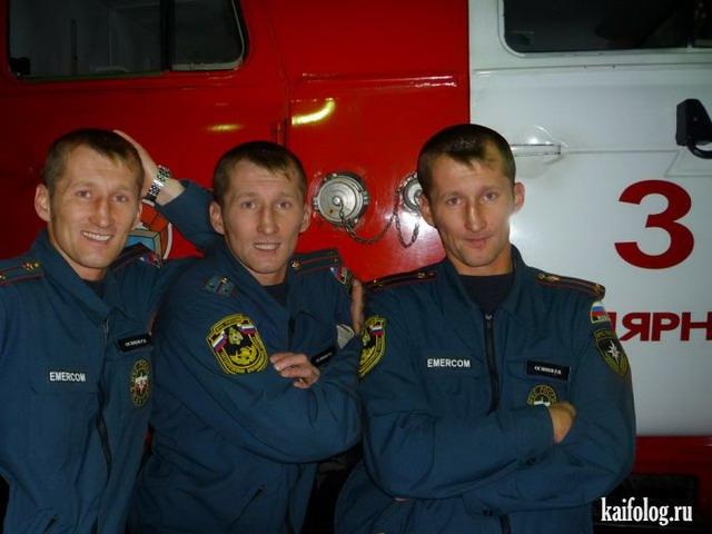 Прикольные пожарные)) 38