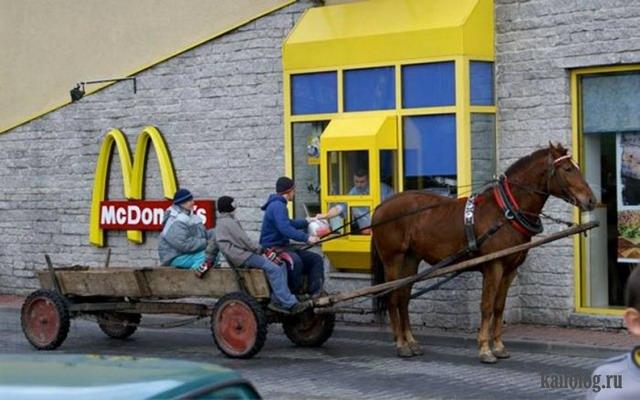 Приколы про макдоналдс (45 фото)