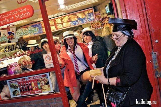 Девичники и мальчишники в Англии (50 фото)
