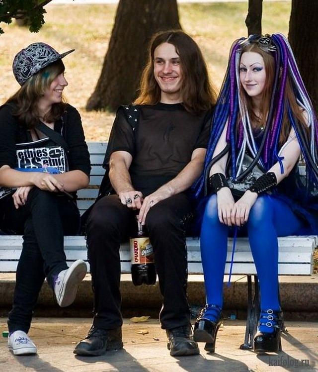 Современная русская молодежь (40 фото)
