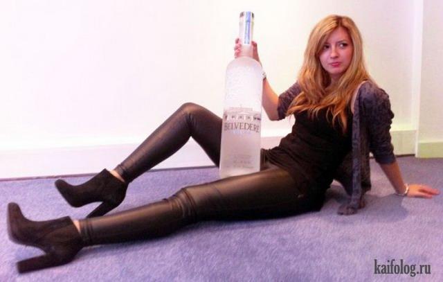 Усалась девушка по пьянке