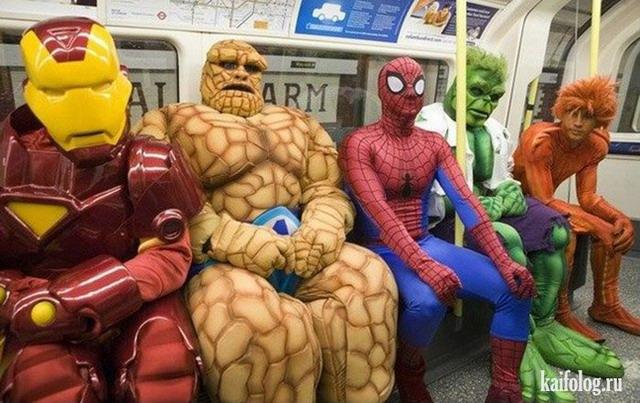 Бодун у супергероев (видео на понелельник)