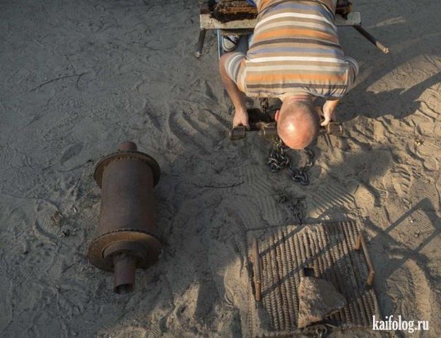 Суровая киевская качалка (25 фото)