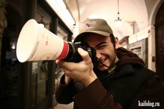 Прикольные фотографы (40 фото)
