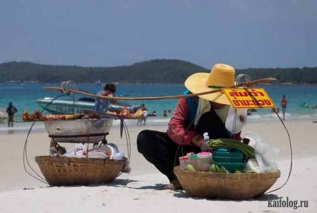 Пляжные торговцы (50 фото)