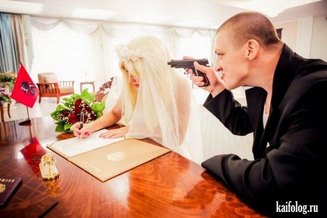 Свадьба в гопическом стиле (35 фото)