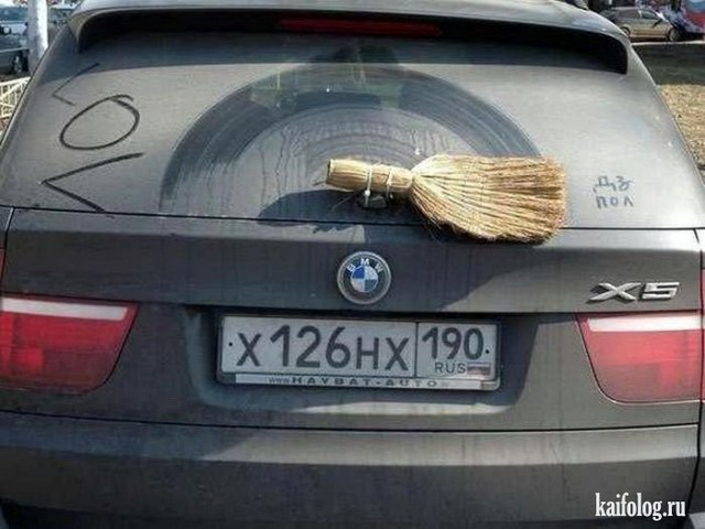 приколы с автомобилями фото: