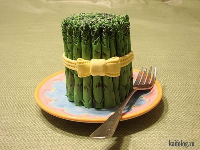 Прикольные торты (40 фото)