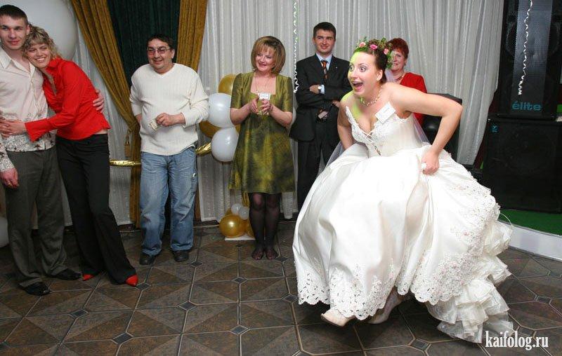 Курьезные фотографии со свадеб