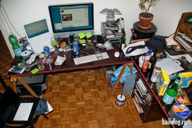 Рабочие места геймеров и программистов (40 фото)