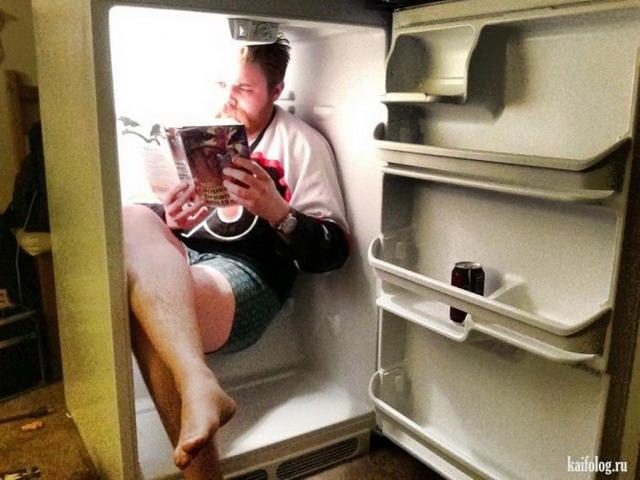 Прикольные холодильники (40 фото)