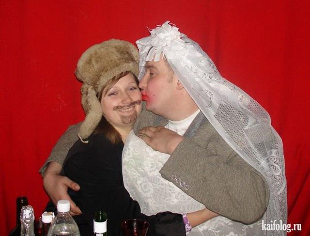 Смешные и идиотские свадебные фото (55 фото)