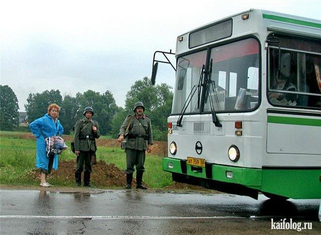 Русский общественный транспорт (60 фото)