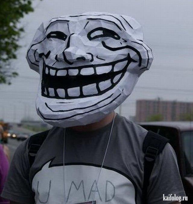 Trollface повсюду (60 фото)