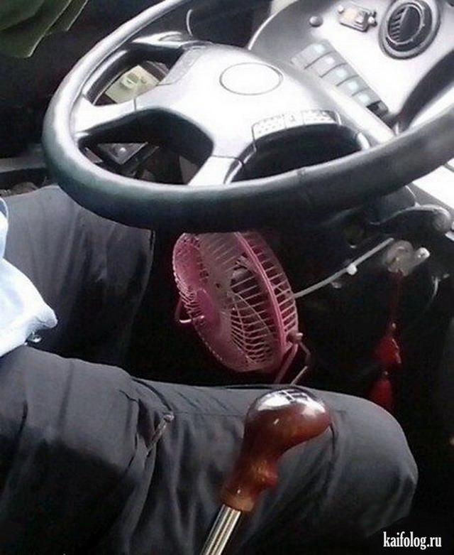 Авто приколы (50 фото + видео)