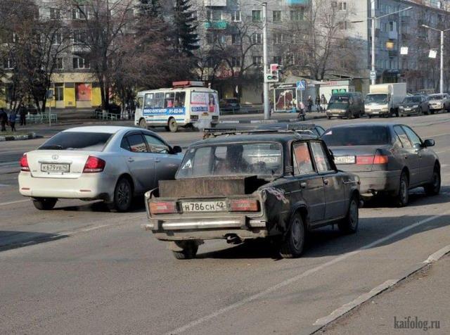 Русские тачки (50 фото)