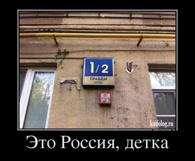 Чисто русские демотиваторы - 166 (65 фото)