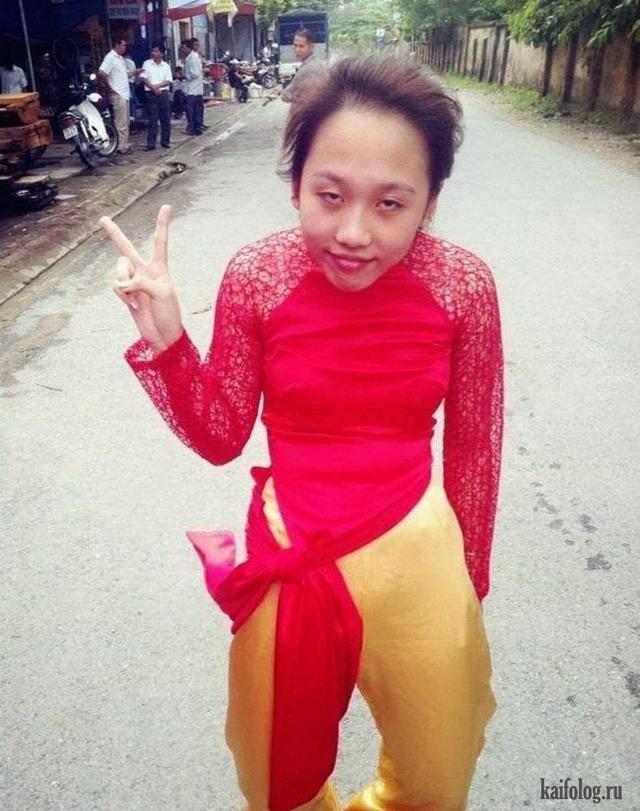 дикая азия девушки