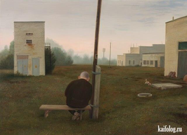 Картины Валентина Губарева (35 картинок)