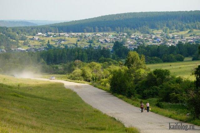 Русская деревня (65 фото)