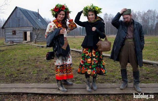 Пьяные русские деревенские фото 490-134