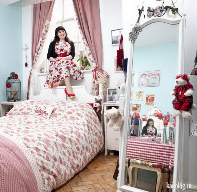 Девушки в своих комнатах (50 фото)