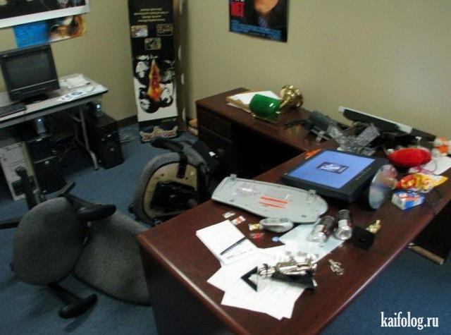 Офисные приколы (55 фото)